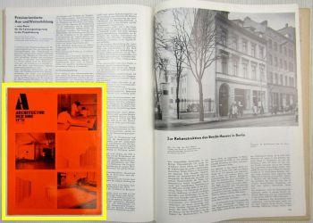 Architektur der DDR Richard Paulick Berlin Brecht-Haus  Broda Neubrandenburg 78