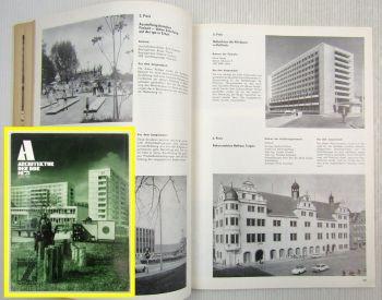 Architektur der DDR Zeitz Magdeburg Torgau Erfurt Frankfurt Brandenburg 10/1975