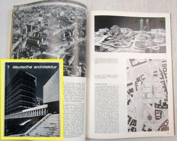 Zeitung Deutsche Architektur Moskau Bratislava Georgien Stara Zagota DDR 1972