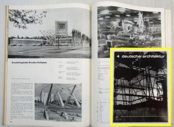 Zeitung Deutsche Architektur Dudendorf Plauen Königs Wusterhausen 04/1973 DDR