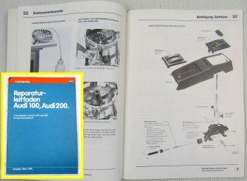 Audi 100 200 C2 Automatisches Getriebe 087 089 Komponentenaustausch