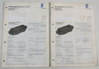 Eberspächer B1LC D1LC Einbau Betriebsanleitung Technische Beschreibung 1994
