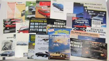 Posten Renault Espace Megane Alpine Clio Twingo Safrane 5 11 18 19 21 25