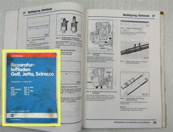 Reparaturleitfaden VW Golf 1 Scirocco Automatikgetriebe 010 Werkstatthandbuch