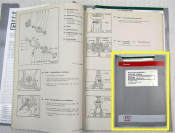 Werkstatthandbuch Audi A6 C5 5 Gang Getriebe Schaltgetriebe 01A Allrad quattro