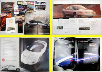 Prospekte GM Cadillac Buick Pontiac Chevrolet Chrysler + Preislliste 80/90er