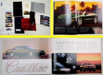 Prospekte GM Pontiac Firebird Cadillac Seville Chevrolet + Preislliste 80/90er