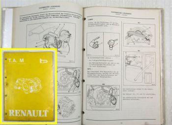 Renault 5 9/11 18 20 25 Fuego Trafic Automatikgetriebe MB1 MJ1 MJ3 ML1 Reparatur