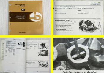 John Deere Motoren Serie K in Rasentraktor Werkstatthandbuch Reparaturanleitung