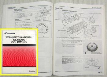 Werkstatthandbuch Honda GL1800A A4 Goldwing Reparaturanleitung Ergänzung 2003