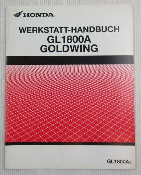 Werkstatthandbuch Honda GL1800A A2 Goldwing Reparaturanleitung Ergänzung 2003