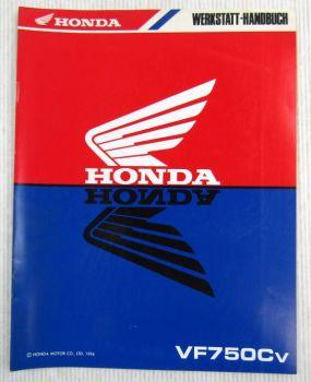 Honda VF750Cv Ergänzung Nachtrag Werkstatthandbuch Reparaturanleitungen 1996