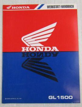 Honda GL1500 C CT (W) Goldwing Nachtrag Werkstatthandbuch Reparaturanleitung 97