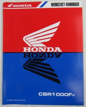 Honda CBR1000Fv Ergänzung Nachtrag Werkstatthandbuch Reparaturanleitung 1996