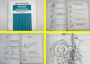 Toyota A540H Automatikgetriebe Werkstatthandbuch 1994 RAV4 I Getriebe