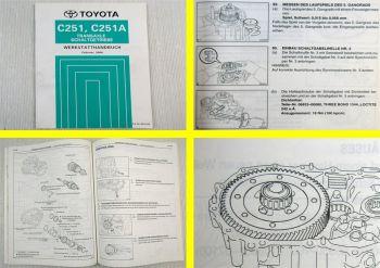 Toyota Corolla Getriebe C251 C251A Werkstatthandbuch 2004