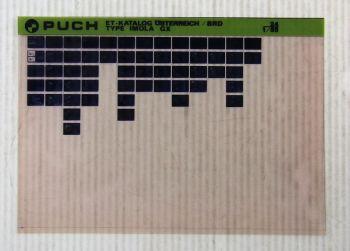 Puch Imola GX Moped 50ccm 4-Gang Ersatzteilliste Ersatzteilkatalog Microfich  85