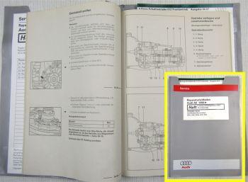 Werkstatthandbuch Audi A6 C5 4B 5 Gang Schaltgetriebe 012 Frontantrieb DHW DDU