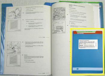 Reparaturleitfaden Audi 80 90 B3 Werkstatthandbuch 2,0 KE-Motronic AAD ab 8.1990
