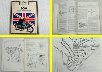 BSA 650cc Twins Motorcycles 1963 - 1972 Service and Repair Handbook Manual