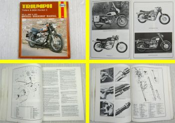 Triumph Trident & BSA Rocket 3 741cc 1969 to 1975 Owners Workshop Manual