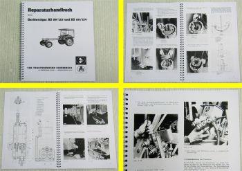 RS 09 GT122 GT124 Geräteträger Werkstatthandbuch