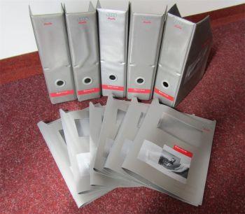 5 Sammelordner VAG Service Stehsammler für Reparaturanleitungen Audi TT A6 A2