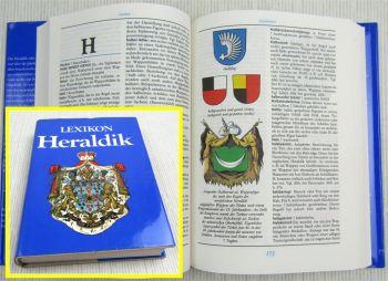 Lexikon Heraldik  Wappenkunde von Gert Oswald VEB Institut Leipzig 1984