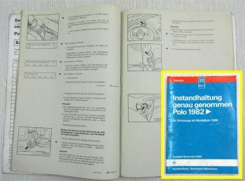 Reparaturleitfaden VW Polo 86C / Polo 2 ab 1986 Instandhaltung Inspektion 1997