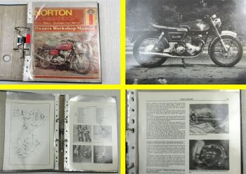 Haynes Norton Commando 745 828 all models from 1967 on Owners Workshop Manual