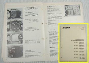 Bosch Impulssteuerung für Gabelstapler 24 V 80V 44V 200-350A Reparaturheft 3/73