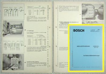 Bosch Impulssteuerung 0196022 .. RS21/1D8 zB für Stapler Reparaturanleitung 4/70
