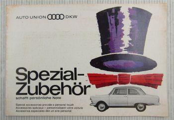 Auto Union DKW Spezialzubehör Sonderausstattung Katalog Special Accessoires