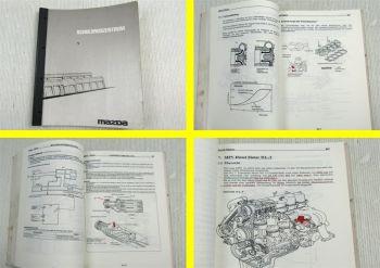 Mazda 323P B2500 Pick Up MPV 1996 Xedos 9 Schulungshandbuch Training 02/1997