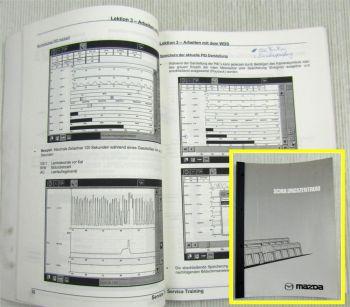 Mazda WDS Tester Basistraining Schulungshandbuch Werkstatthandbuch 03/2001