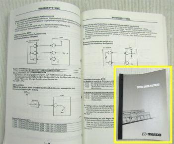 Mazda EOBD Diagnose Schulungshandbuch Training Service Werkstatthandbuch 02/2000
