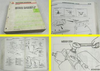 Werkstatthandbuch Mitsubishi Space Runner Wagon ab 1999 Reparaturhandbuch