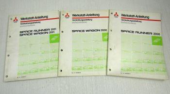 Mitsubishi Space Runner Wagon II Schaltpläne Elektrik Verdrahtung 2000 / 2001
