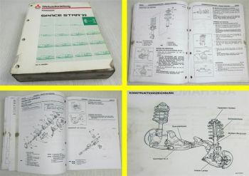 Mitsubishi Space Star ab 1999 Werkstatthandbuch Werkstattanleitung Reparaturen