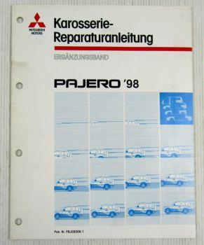 Reparaturanleitung Mitsubishi Pajero V20 1998 Karosserie Nachtrag