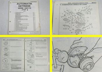 Werkstatthandbuch Mitsubishi Automatikgetriebe Galant Colt III Lancer IV Space W