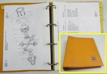 Ahlmann AS10/S Schwenklader Ersatzteilkatalog Ersatzteilliste Parts List 9/88