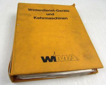 WMA Winterdienst-Geräte und Kehrmaschinen Handbuch z.B. John Deere Schlepper