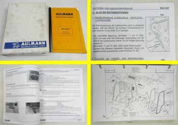 Ahlmann AVT627 Betriebsanleitung Wartung Ersatzteilkatalog Ersatzteilliste 1996