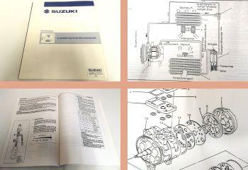 Suzuki allg. Anleitung für Klimaanlagen Funktion Fehlersuche Montage 1994
