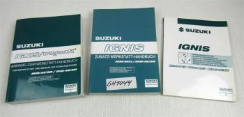 Suzuki Ignis 1.3 1.5 Zusatz Werkstatthandbuch Schaltpäne 2003 / 2004