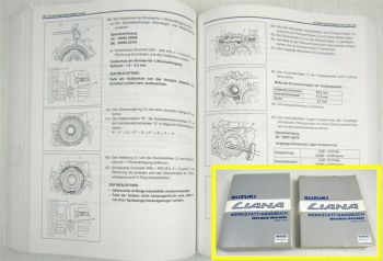 Reparaturhandbuch Suzuki Liana Werkstatthandbuch 2001 - 2004