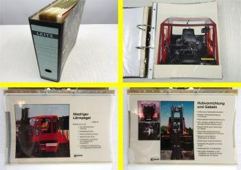 Kalmar EC + DC Stapler 2-8t Overheadbilder Schulung Verkauf Werkstatthandbuch