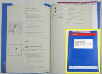 Werkstatthandbuch VW Transporter T4 Reparaturhandbuch Radio Telefon Navi 1999