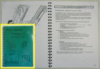 Kalmar Irion EVL Lenksystem EFY-E 4-WegeStapler Service-Anleitung Bedienung 2007